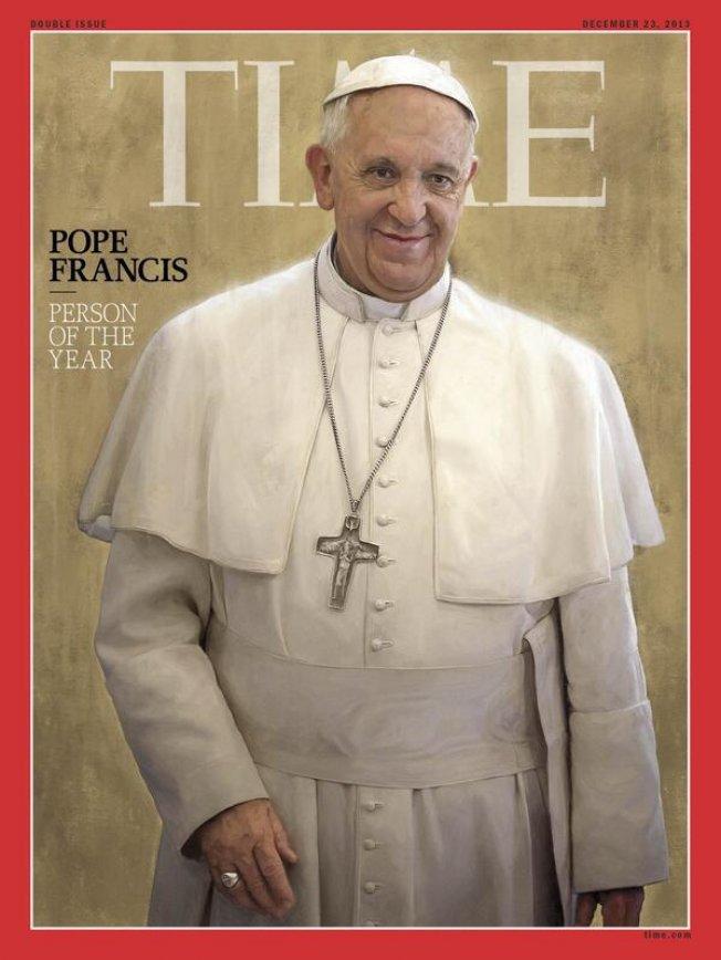 Pape François - homme de l'année 2013